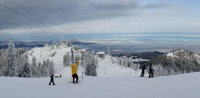 Weekendul trecut am schiat în condiții bune în Poiana Brașov. Se anunță temperaturi scăzute șininsori