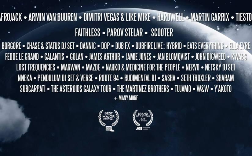 Primii 5 DJ din lume vin la Untold Festival 2016. DVLM, Hardwell, Garrix, Armin, Tiesto. 42 artiști noianunțați