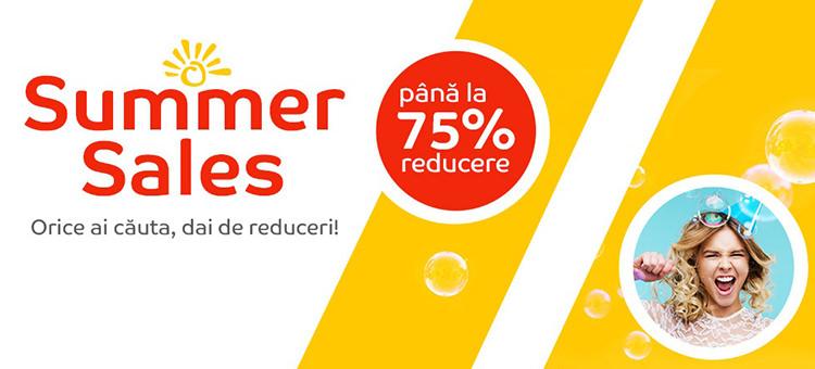 Summer Sales la eMAG taie prețurile cu până la75%