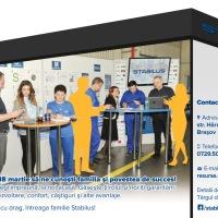 Compania brașoveană STABILUS organizează cel mai mare târg de carieră chiar în companie.