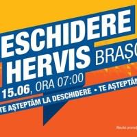 Hervis Sports se deschide joi (15.06) în Brașov. Vezi promoțiile.