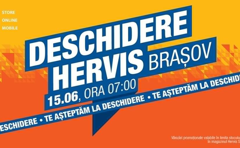 Hervis Sports se deschide joi (15.06) în Brașov. Vezipromoțiile.