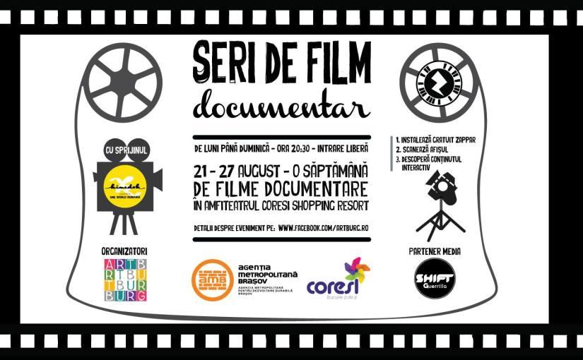O nouă săptămână de filme documentare înBrașov