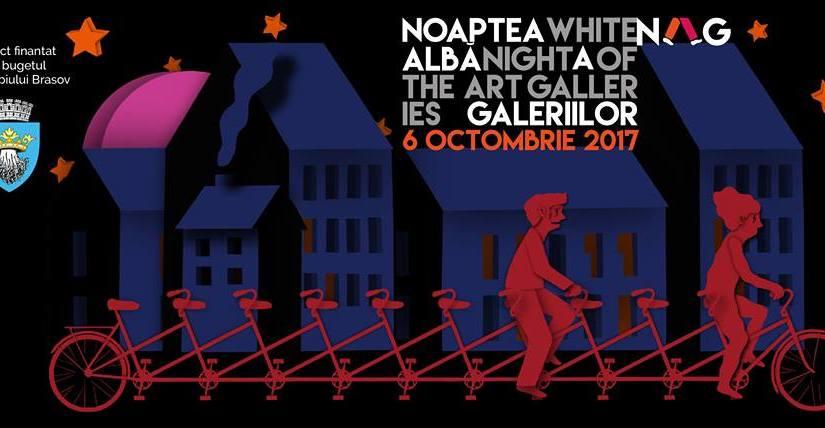 Vinerea aceasta Brașovul pedalează la Noaptea albă a Galeriilor. Surprize pentru cicliști și nunumai.