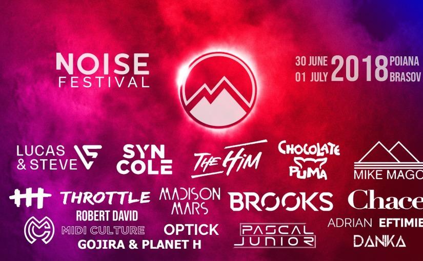 Un nou festival de muzica electronica pe harta Brasovului. NOISEFestival