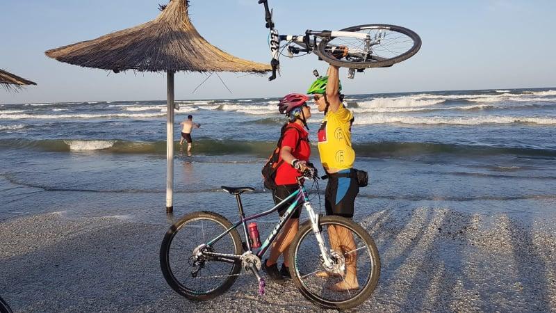 """Prima mea experiență """"Cu bicicleta la Mare"""" a fost un veritabilsucces"""