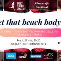 Get that beach body cu Vlad Dorobăț și Alina Spinean